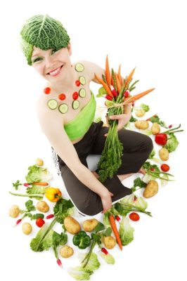 woman on low carb diet