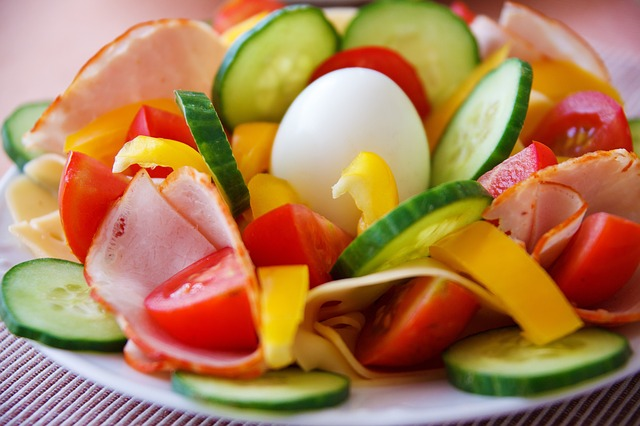 low carb salad image